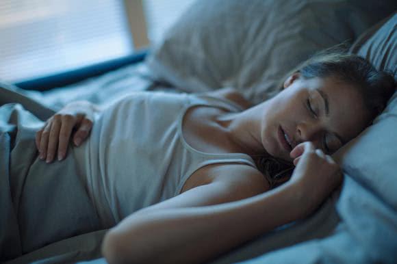La bonne position pendant le sommeil